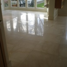 Seal An Internal Marble Floor With No Sheen Or Shine - Marble floor shiner