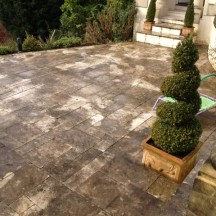 How To Remove Algae and Black Spot Lichen From Stone