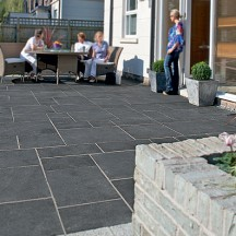 Maintaining Marshalls Fairstone Aluri Riven Charcoal Limestone