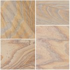 Sealing Bradstone Rainbow smooth natural sandstone
